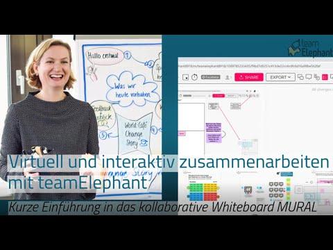 Einführung in #MURAL: Interaktiv und virtuell zusammenarbeiten #Tutorial #Deutsch