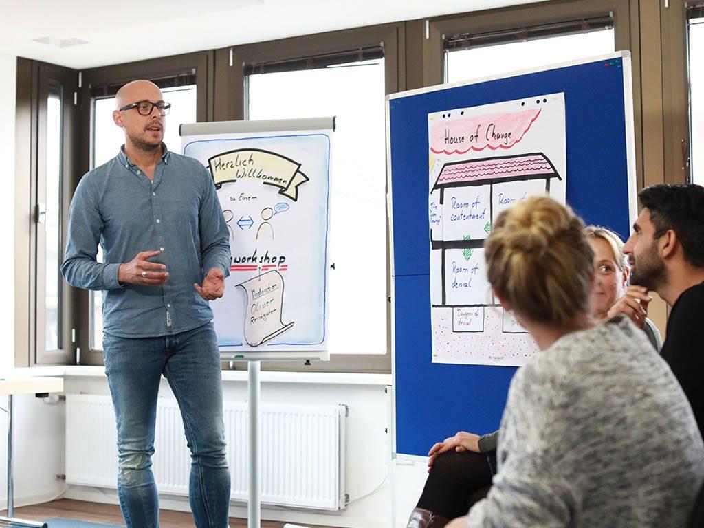 Konfliktmoderation und Change Management mit den empathischen Experten von teamElephant