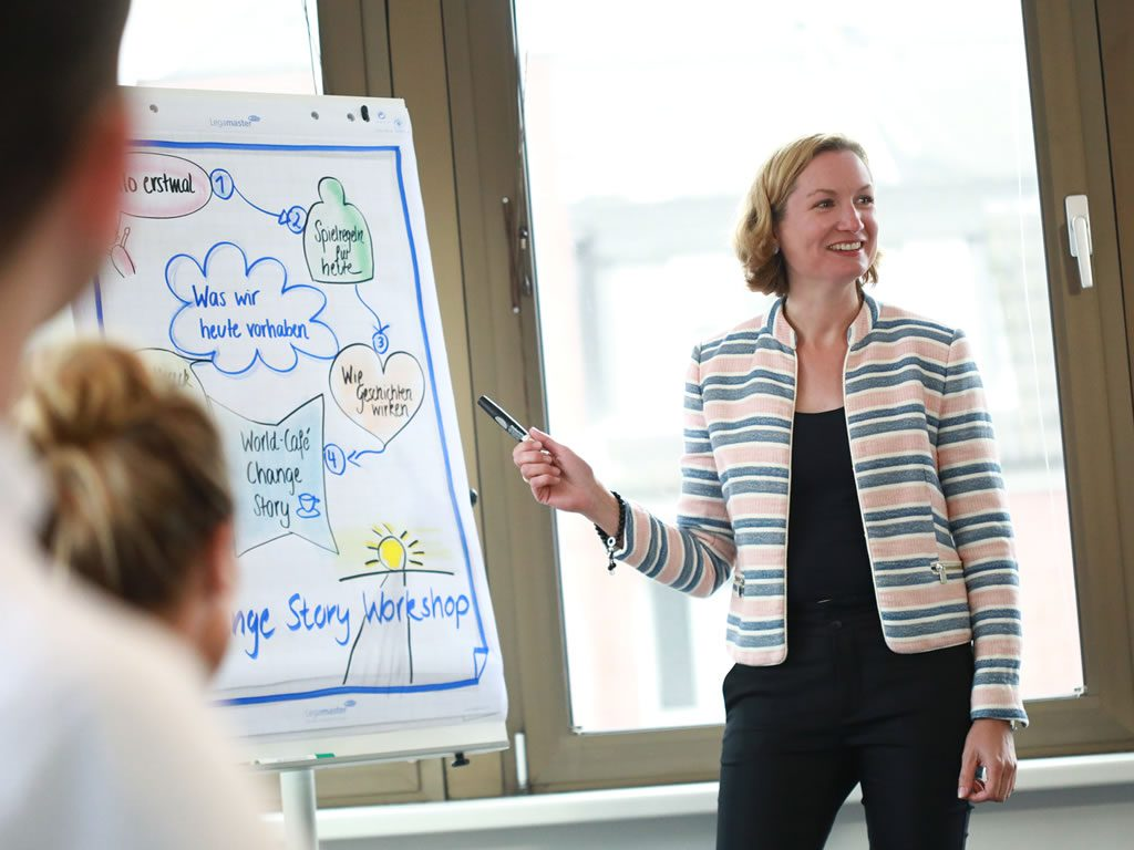 Change StoryChange Story Workshop mit teamElephant zur mitreißenden Vermittlung des Sinns von Change Projekten