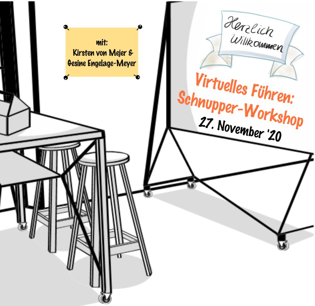 Führen auf Distanz Virtuelles Führen Online Schnupper Workshop 27.11.20